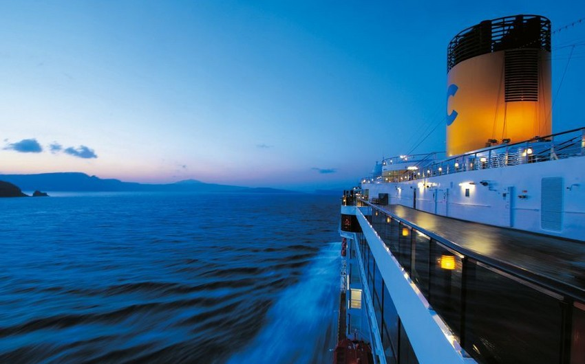 First cruise on Caspian Sea postponed for year