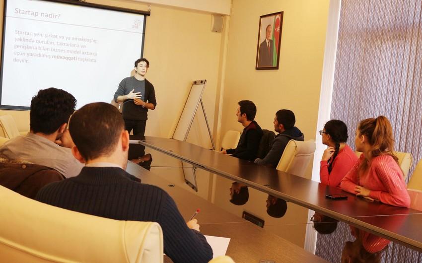 Baku Business Factory Azərbaycan Universitetində seminar keçirib