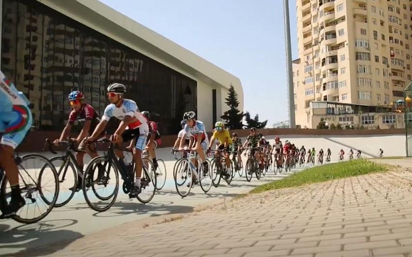 Azərbaycan velosipedçilərinin bu günü - VİDEO