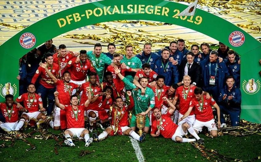 Бавария разгромила Лейпциг и завоевала Кубок Германии - ВИДЕО