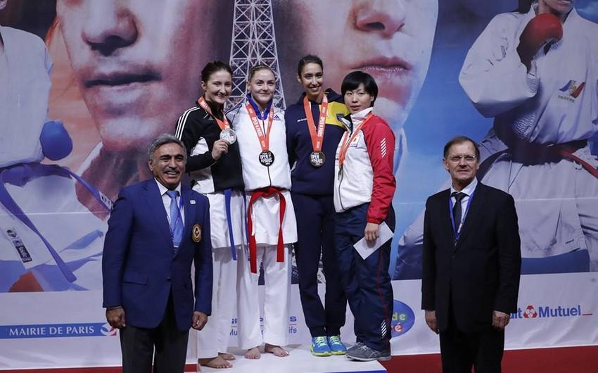 Azərbaycan karateçisi Fransada gümüş medal qazanıb