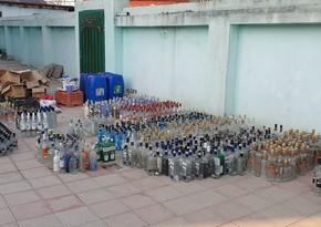 Kustar yolla spirtli içki istehsal edənlərin evinə təkrar baxış keçirilib