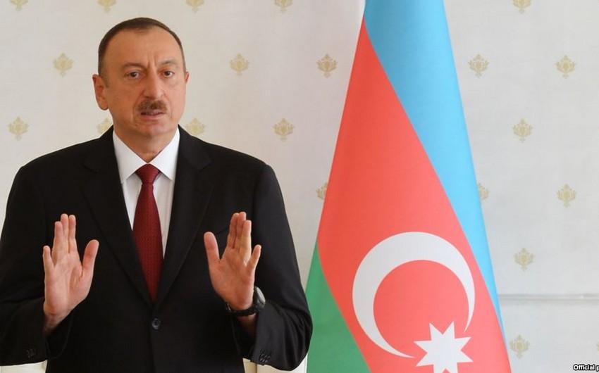 Prezident: Dünya birliyinin mütləq əksəriyyəti Azərbaycanı dəstəkləyir