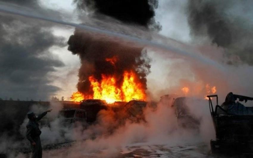 Əfqanıstanda partlayış: 10 nəfər ölüb, 15 nəfər yaralanıb