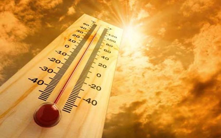 Sabah Azərbaycanda havanın temperaturu 42 dərəcəyə yüksələcək