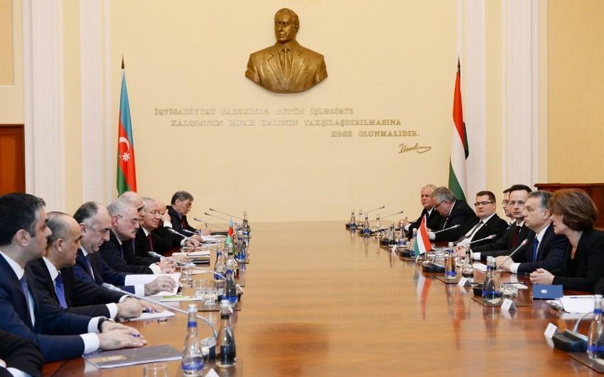 Премьер-министр Азербайджана встретился с премьер-министром Венгрии