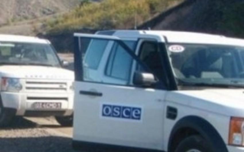 ATƏT nümayəndələri helikopter vurulan rayonda monitorinq keçirib