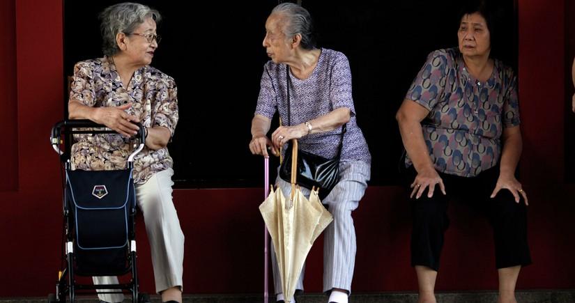 В Японии число пожилых людей достигло рекордных показателей
