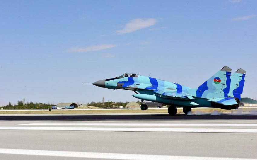 TurAz Şahini - 2021 birgə taktiki-uçuş təlimləri davam edir