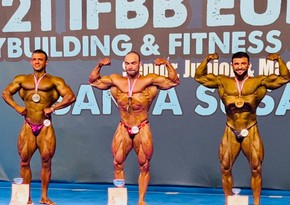 Azerbaijan claims four medals at European bodybuilding championship