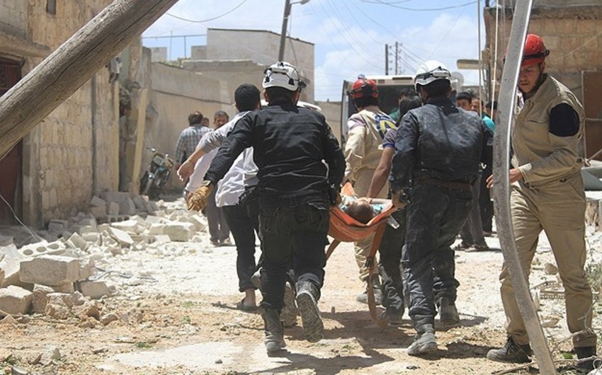 54 nəfər Bəşşar Əsəd qüvvələrinin bombardmanlarının qurbanı olub