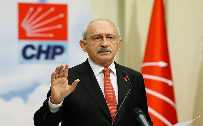 Kemal Kılıçdaroğludan Azərbaycana dəstək