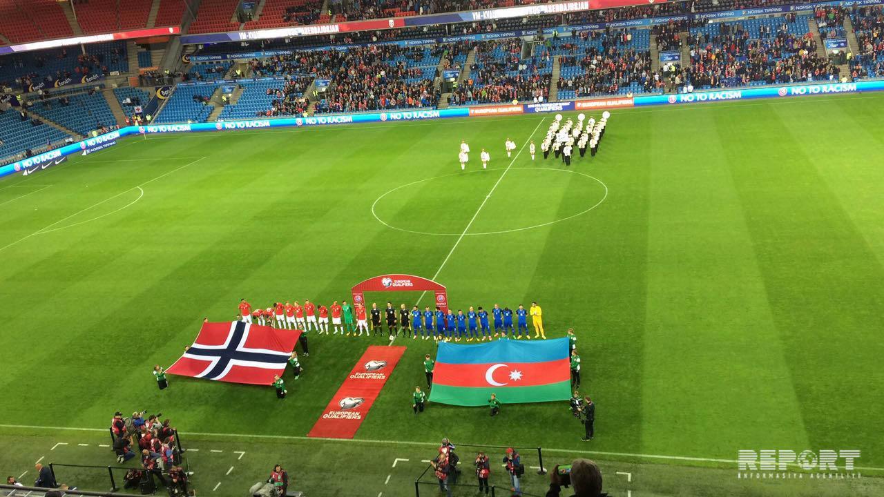 Азербайджан на выезде уступил Норвегии - ВИДЕО