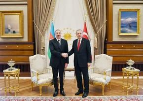 Ilham Aliyev calls Recep Tayyip Erdogan