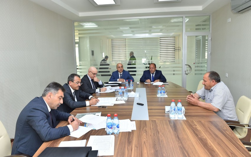 """""""Azərsu"""" sədri Beyləqanda vətəndaşları qəbul edib"""