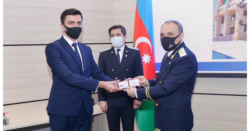 100 nəfər gənc hüquqşünas prokurorluq orqanlarına qulluğa qəbul edilib