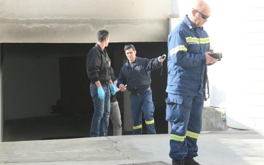 Kiprdə futbol hakiminin avtomobili yandırılıb