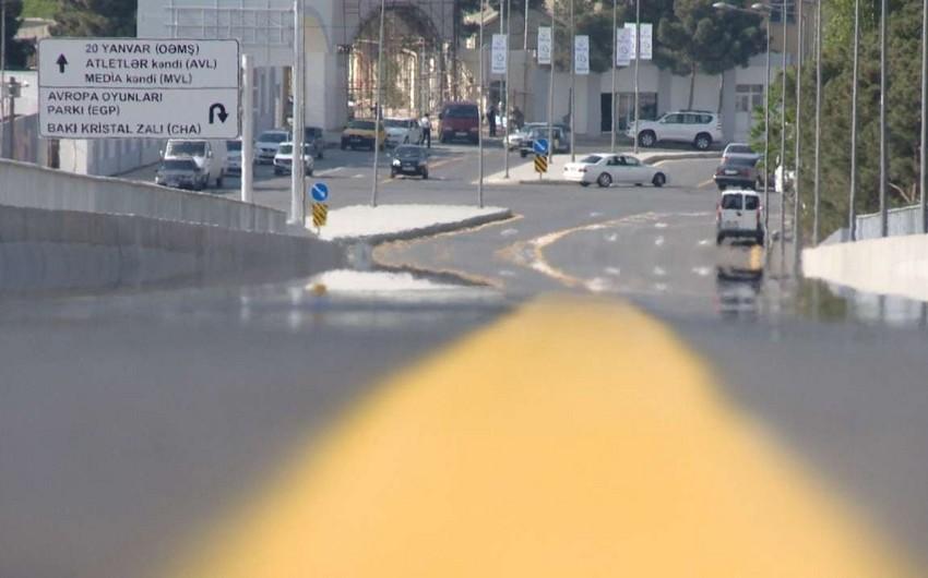 Bakı yollarında sarı zolaq qadağası yenidən qüvvəyə minir, qaydanı pozanlar cərimələnəcək