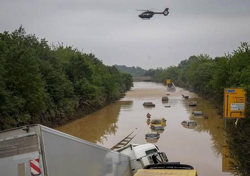 Наводнение привело к разливу нефти на западе Германии