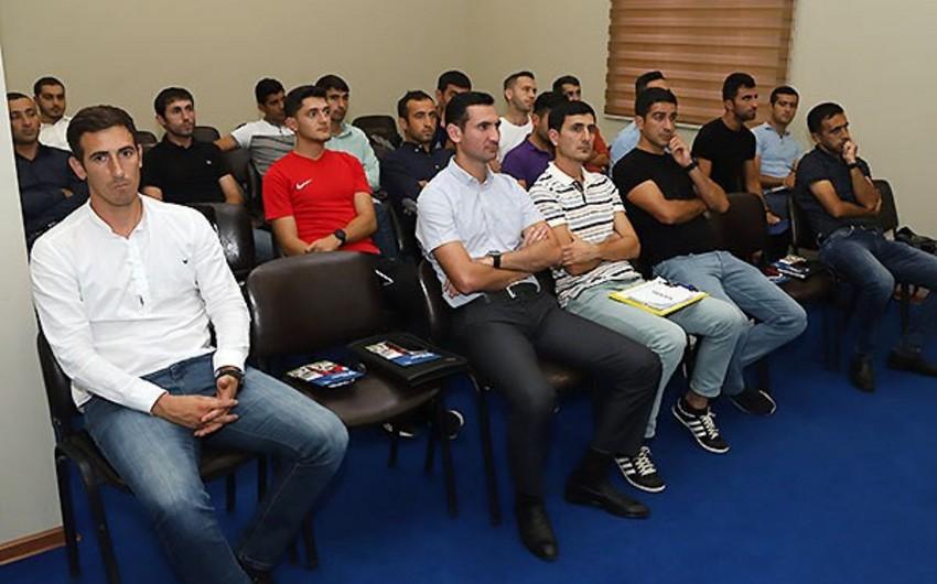 Представители ФИФА и УЕФА провели в Баку встречу относительно договорных матчей