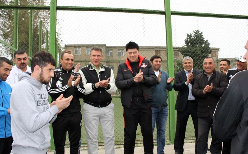 Ринат Дасаев побывал на базе ФК Нефтчи