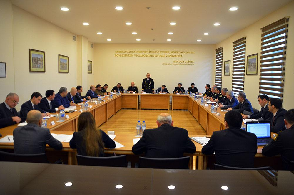 Unified Coordination Group holds meeting in Naval Forces of Azerbaijan