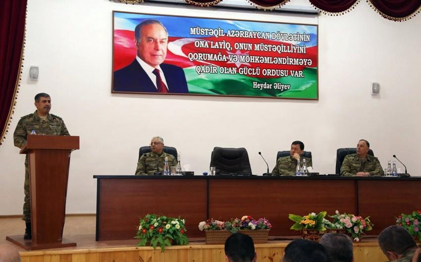 Zakir Həsənov: Azərbaycan ordusunun genişmiqyaslı təlimləri yüksək səviyyədə keçib