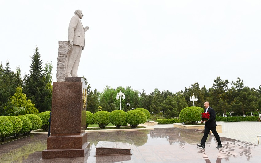 President leaves for Hajigabul