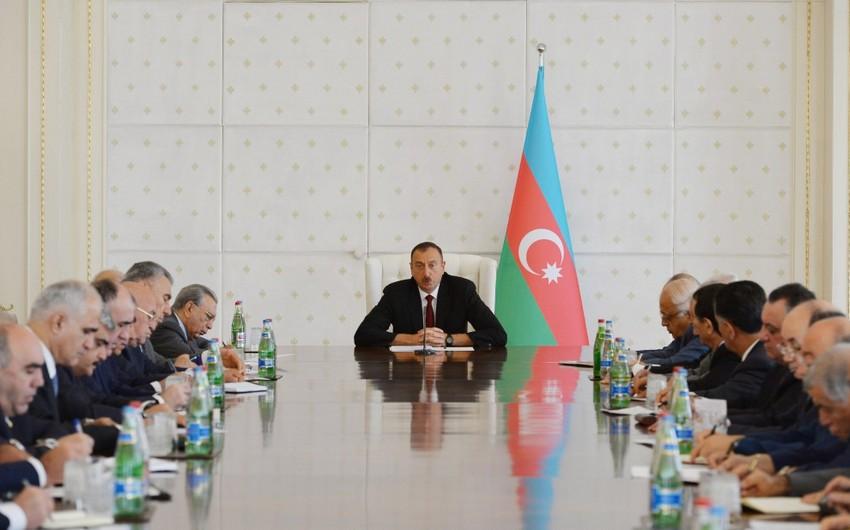 Azərbaycan Prezidenti: Nə qədər gücüm varsa, mən kənar təsirin qarşısında duracağam