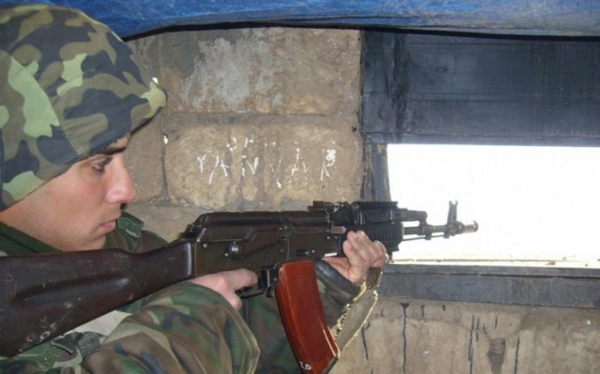 Ermənistan silahlı qüvvələri atəşkəsi 116 dəfə pozub