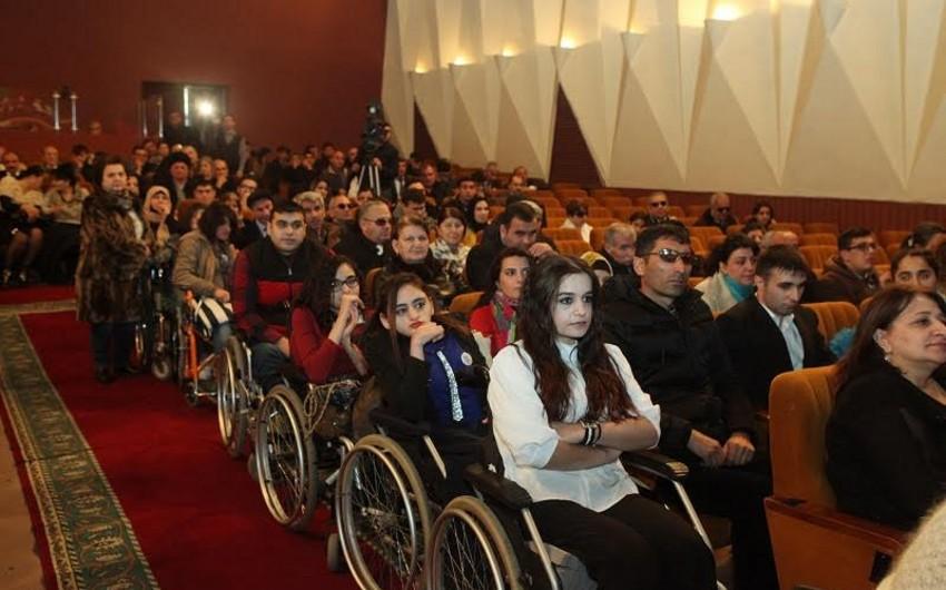 Əlillərin VII Ümumrespublika bədii yaradıcılıq müsabiqəsi başa çatıb