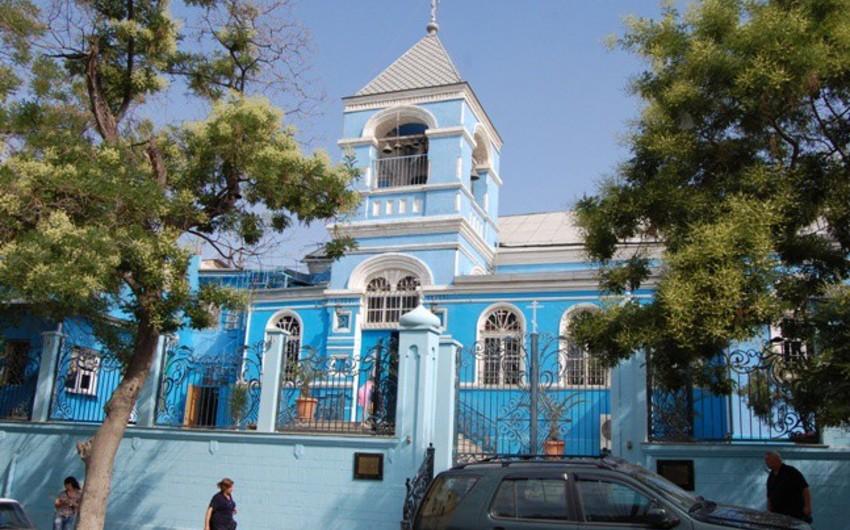 В Азербайджане приостановлены богослужения в храмах