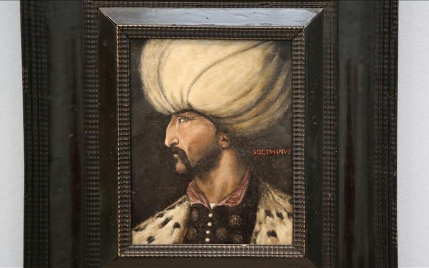 Sultan Süleymanın portreti 1 milyon manata satıldı