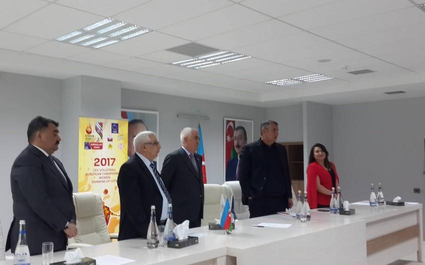 Azərbaycan Voleybol Federasiyasında İslamiadaya hazırlığa həsr olunmuş toplantı keçirilib