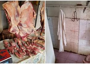 Şirvanda ətin baytarlıq ekspertizasından keçmədən satışının qarşısı alınıb