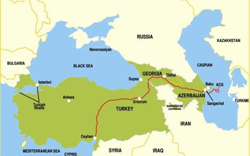 Bu il Ceyhan limanından 10 mln. ton Azərbaycan nefti bazara çıxarılıb