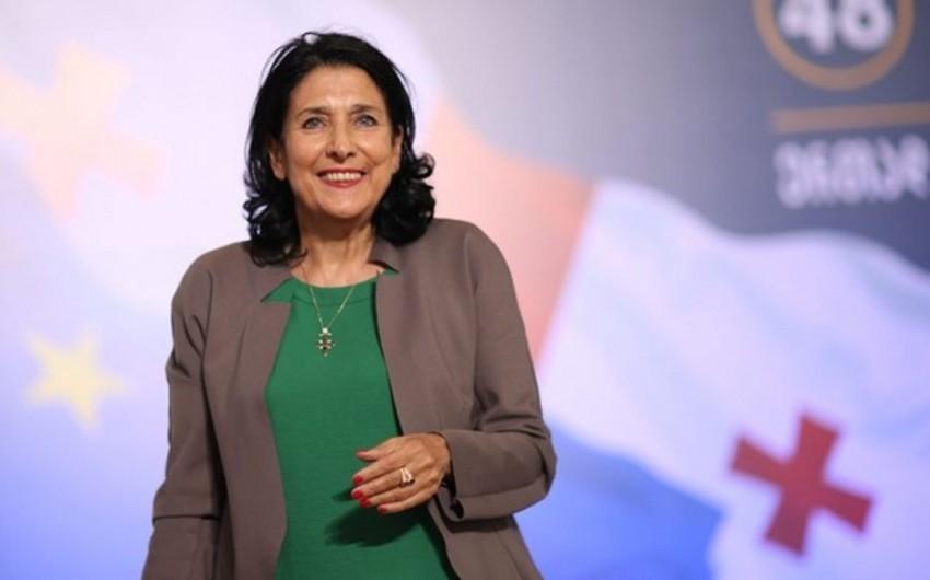"""Salome Zurabişvili: """"Gürcüstandakı milli azlıqların dövlət dilini bilməmələri onların inteqrasiyasına mane olur"""""""
