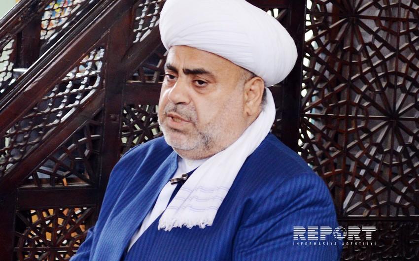 Аллахшукюр Пашазаде: Бакинский саммит религиозных лидеров окажет влияние на мировую политику