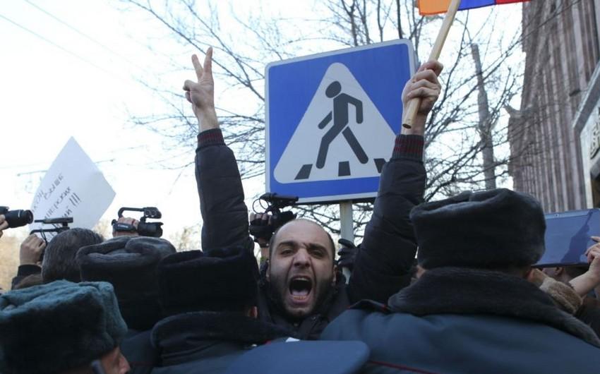 Yerevanda növbəti etiraz aksiyası keçiriləcək