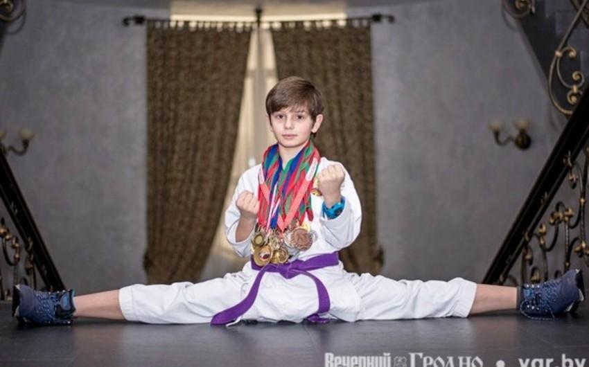 11 yaşında 57 medal qazanmış azərbaycanlı karateçi