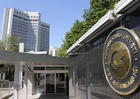Türkiyə XİN: Latviya parlamentinin erməni soyqırımı ilə bağlı qərarını rədd edirik