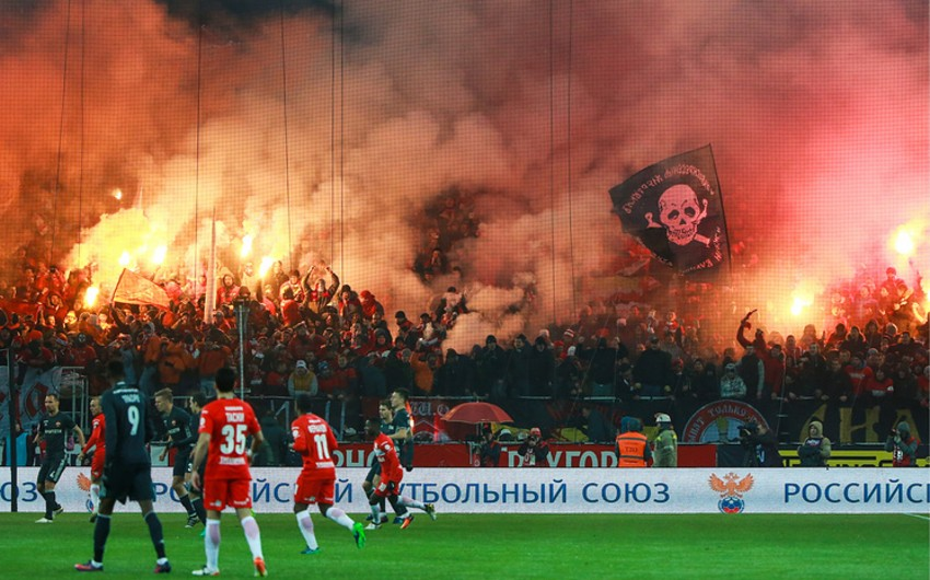 Более 70 футбольных фанатов задержаны в Москве за различные правонарушения