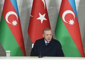 Эрдоган рассказал о своем визите в Азербайджан