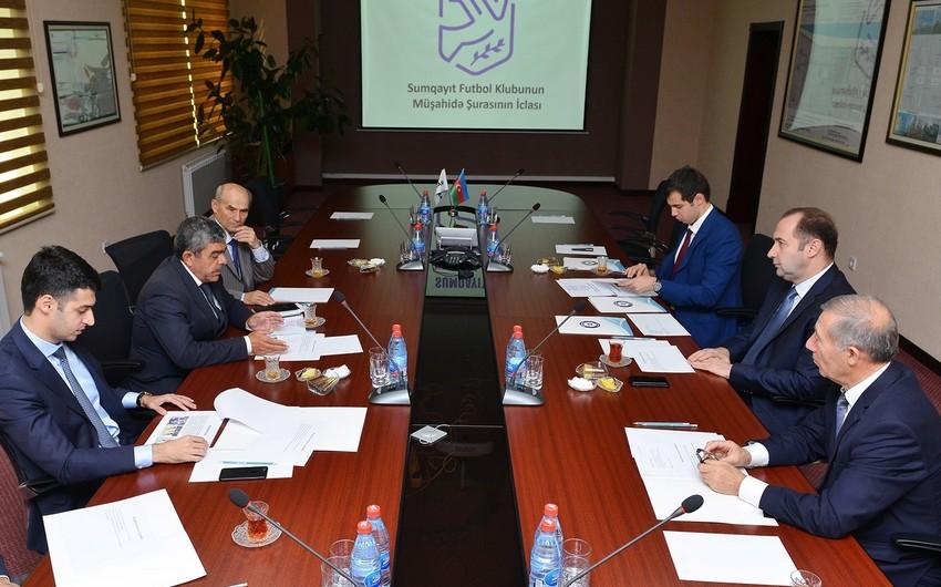 """""""Sumqayıt"""" Futbol Klubunun Müşahidə Şurasının tərkibində dəyişiklik edilib"""