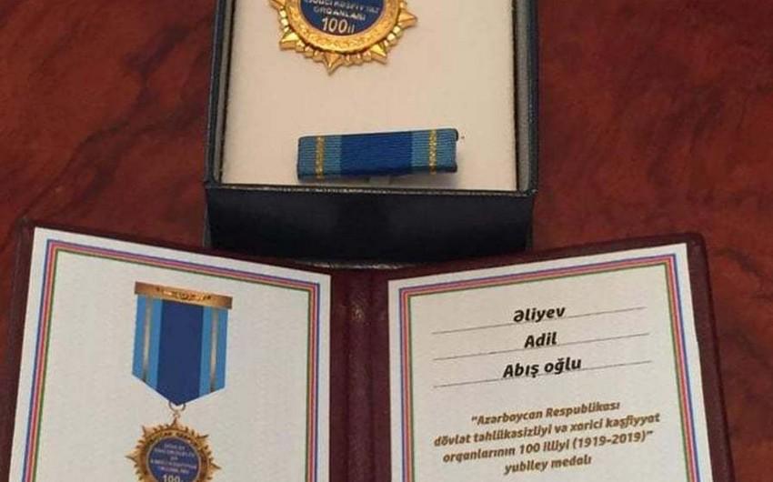 Deputat təhlükəsizlik orqanlarının yubiley medalı ilə təltif olunub