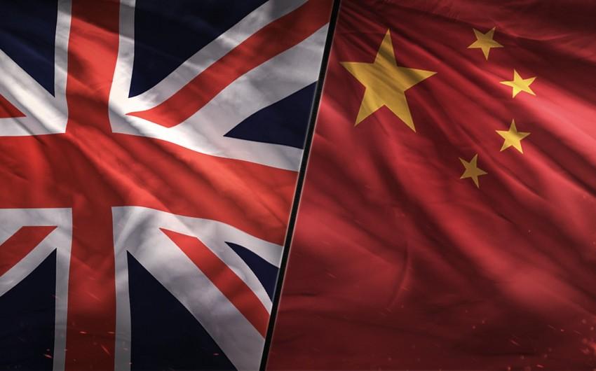 Böyük Britaniya Çin məhsullarının idxalını azaltmaq niyyətindədir