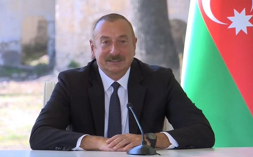 Prezident: Müttəfiqlik haqqında Bəyannamə əlaqələrimizi ən yüksək zirvəyə qaldırır