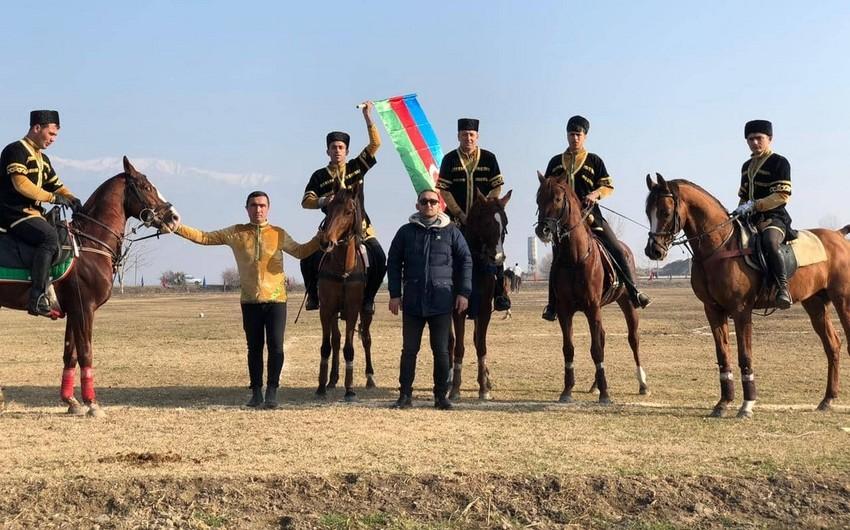 Şəkidə Çövkən Milli Atüstü Oyunu üzrə Prezident Kuboku start götürüb