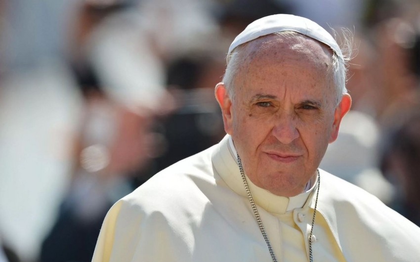 Roma Papası Azərbaycan və Ermənistana çağırış etdi