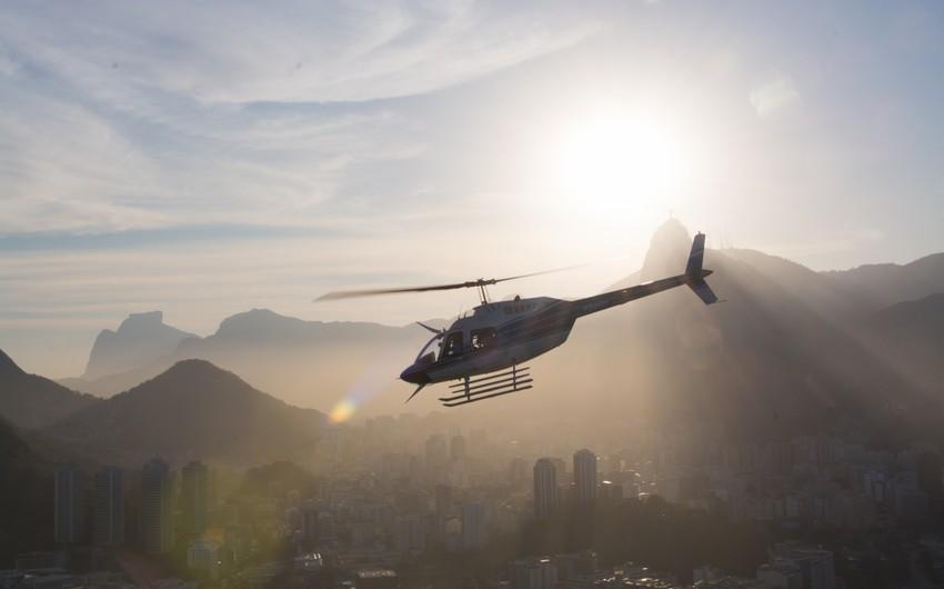 Yaponiyada helikopter qəzası baş verib, xəsarət alanlar var